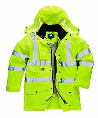 Portwest S427 Hi-Vis-7-In-1, Giacca, S427YER4XL (x0H)
