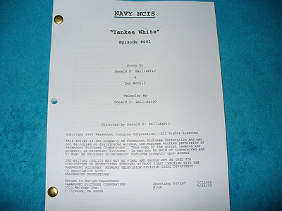 Navy Ncis Tv Pilot Script - Mark Harmon - Michael Weatherly - David Mccallum