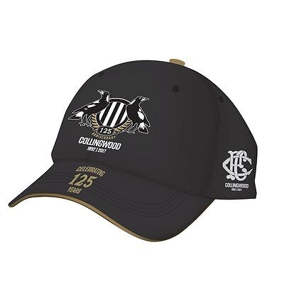 Collingwood Magpies 2017 125th Anniversary Cap / Hat BNWT