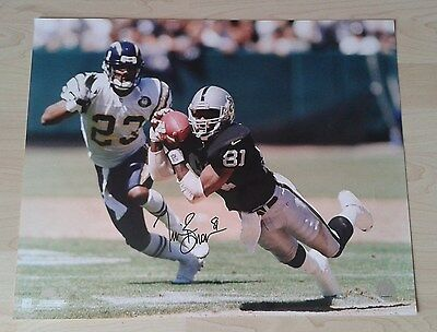 Tim Brown Oakland Raiders 16x20 Autograph Auto signed w/COA