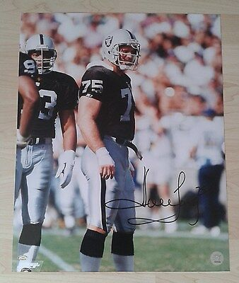Howie Long Oakland Raiders 16x20 Autograph Auto signed w/COA