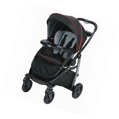 NEW Graco Modes Baby Infant Travel Click Connect Convertible Stroller, Solar