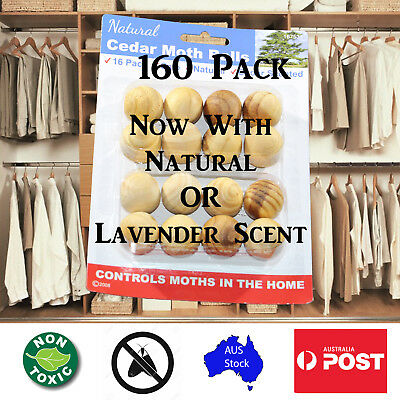 16 Natural Wardrobe Clothing Cedar Wood Moth Balls Cedarwood Chips Bug Repellant