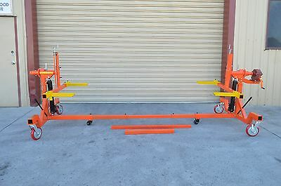 CAR ROTISSERIE  4000LBS  2 x 8ton HYD RAMS, WITH GEARBOX ROTATION 360 DEGREE ,