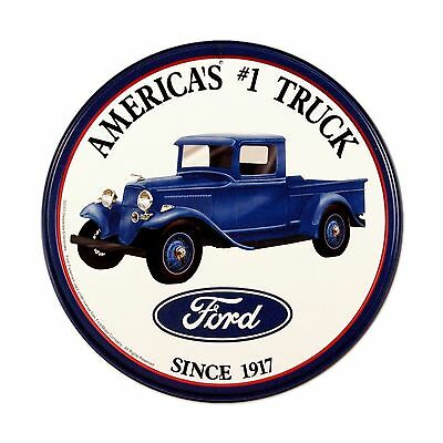 Ford Trucks Tin Sign 12 x 12in Free Shipping