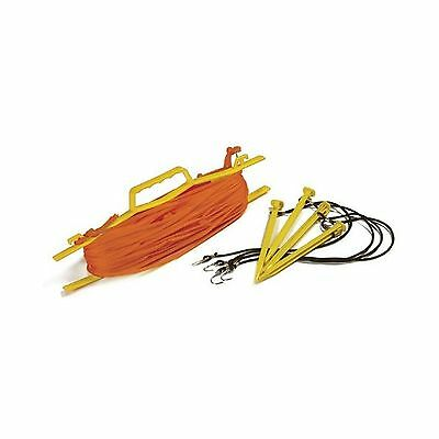 Tandem Sport Rope Volleyball Court Lines Orange Free Shipping