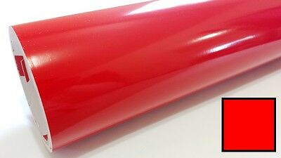 "Gloss Light Red Vinyl 24""x150' Roll Sign Making Supplies Decal Craft Decoration"