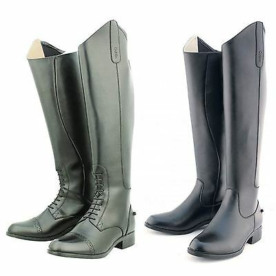 Dublin On Air Long Horse Riding Boots - Tall Show Jumping Dressage Competition