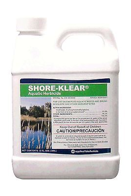 Shore-Klear Aquatic Herbicide Water Treatments 32 FL.OZ 0.25 ga... Free Shipping