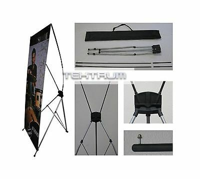 TEKTRUM Large 32 x 71 Inches Tripod X Banner Stand for Trade Sh... Free Shipping