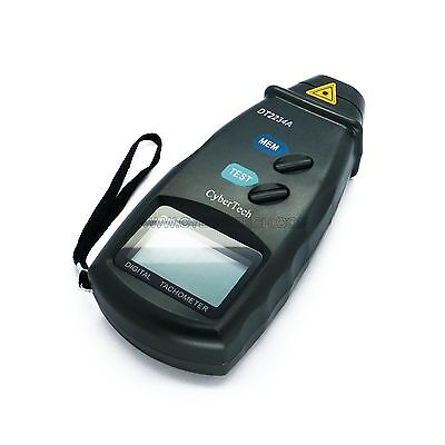 Digital Photo Laser Tachometer Non Contact Tach RPM Meter Free Shipping