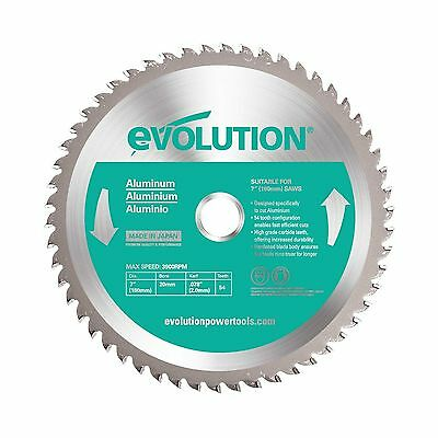 Evolution Power Tools 180BLADEAL Aluminum Cutting Saw Blade 7-I... Free Shipping