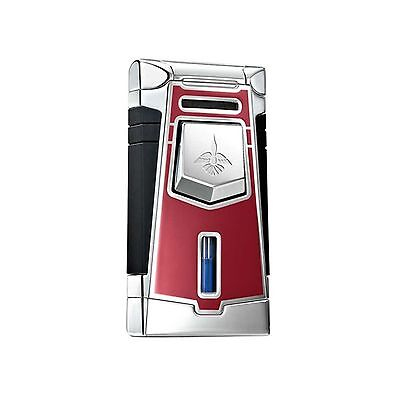 Colibri Empire Deep Red Jet Flame Lighter Free Shipping