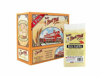 Bob's Red Mill Golden Masa Harina Corn Flour 24 Ounce (Pack of 4) Free Shipping