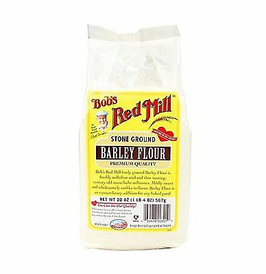 Bob's Red Mill Barley Flour 20 Ounce (Pack of 4) Free Shipping
