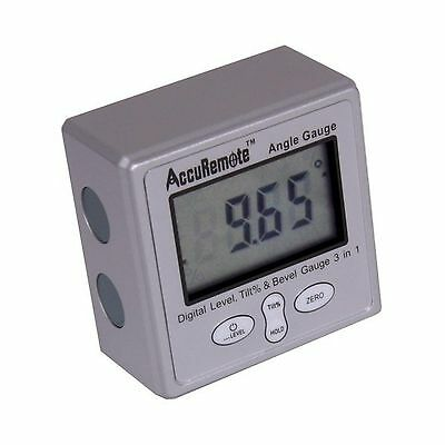 AccuRemote Digital Electronic Magnetic Angle Gage Level / Protr... Free Shipping