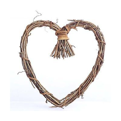 Natural Twig Grapevine Heart Shaped Wreaths for Your Decorating... Free Shipping