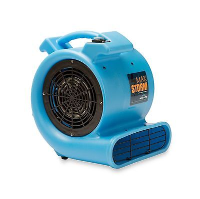 Max Storm 1/2 HP 2550 CFM Durable Lightweight Air Mover Carpet ... Free Shipping