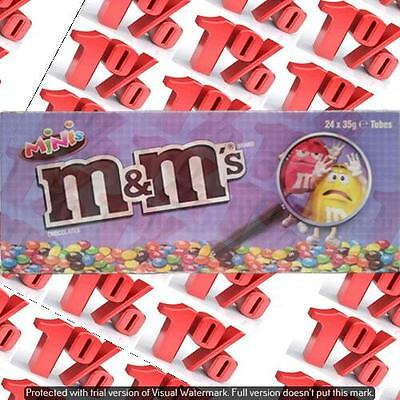 1x M&M'S Mini's Tube - 24 X 35 G