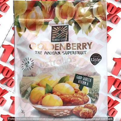 1x Terrafertil Dried Goldenberries - 567 G