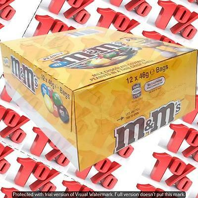 1x M&M'S Peanut Bag - 12 X 46 G