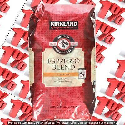 1x Kirkland Signature By Starbucks Wholebean Roasted Espresso - 907 G