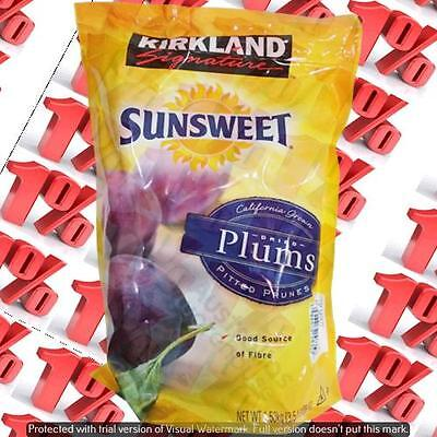 1x Kirkland Signature Dried Plums - 1.5 KG