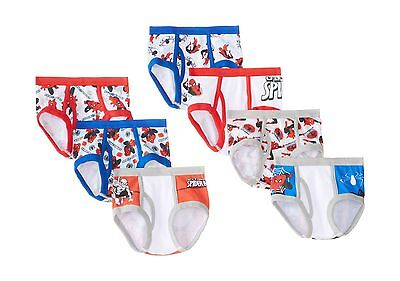 Marvel Little Boys' Spiderman Seven-Pack of Briefs Multi Toddle... Free Shipping