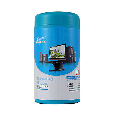 Screen Cleaning Wet Wipes Tissues For Laptop LED LCD Display TV Monitor iPad