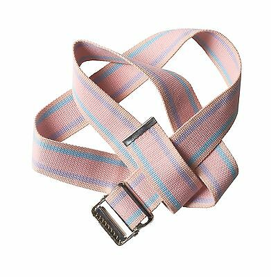 Physical Therapy Gait Belt with Metal Buckle (pink) 60 pink 60 ... Free Shipping