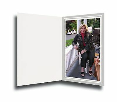 Cardboard Photo Folder for a 8x10 Photo (Pack 0f 50) Light Gray Free Shipping