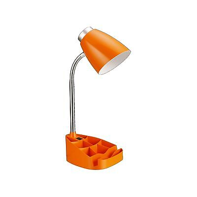 Limelights LD1002-ORG Gooseneck Organizer Desk Lamp with iPad T... Free Shipping
