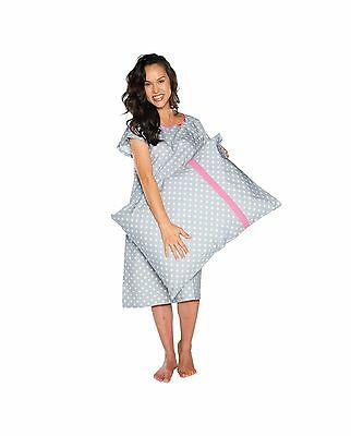 Gownies - Delivery Maternity Hospital Gown Set Labor Kit With P... Free Shipping