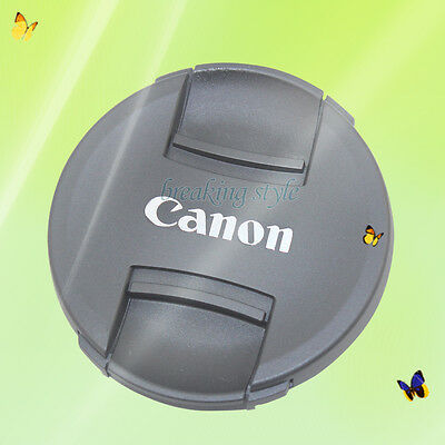 Genuine Canon 77mm E-77II Center Pinch Lens Cap Original E-77 II L-CAPE772