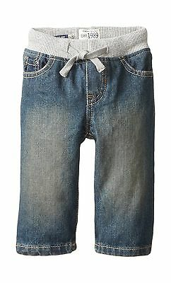 The Children's Place Baby Boys' Pull-On Jeans Aged Stone Toddle... Free Shipping