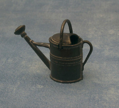 1:12 Scale Metal Watering Can Dolls House Miniature Garden Accessory
