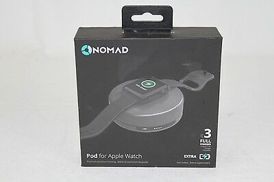 NEW Nomad Pod Portable Charger for Apple Watch Space Gray POD-APPLE-SG-001