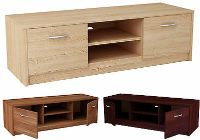 TV Stand Entertainment Console Media Center Furniture Modern Cabinet Shelf Door