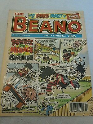 VINTAGE BEANO COMIC COLLECTABLE BIRTHDAY ANNIVERSARY GIFT 2718 AUGUST 20th 1994