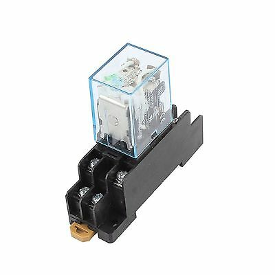 Uxcell IEC255 DC 12V Coil 8Pin DPDT Electromagnetic Power Relay... Free Shipping