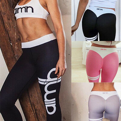 Women's Sports Gym Yoga Running Workout Fitness Leggings Pants Athletic Clothes