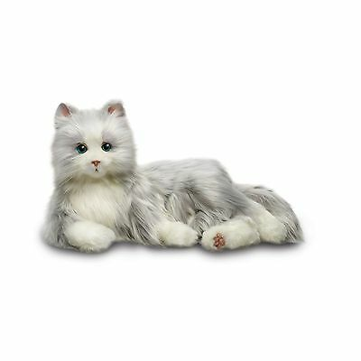 Joy For All Silver Cat With White Mitts Silver with White Mitts Free Shipping