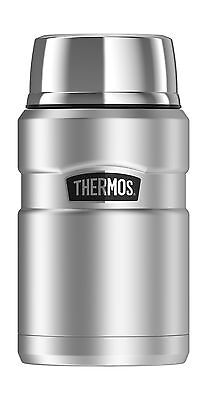 Thermos Stainless King 24 Ounce Food Jar Stainless Steel Free Shipping