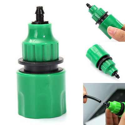 5 Pcs Garden Water Hose Quick Connector Micro Irrigation Adapter Connector Home