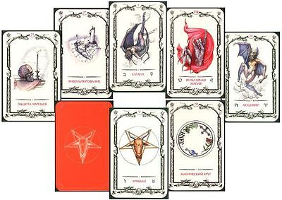 Tarot of Shadows New Sealed Oracle 79 Cards Deck Pagan Wicca Witch Free Tracking
