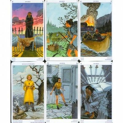 The Pagan Tarot 6 Languages Regular Size Cards Deck 79 WICCA Witch FREE TRACKING