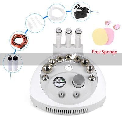 3in1 MICRODERMABRASION DERMABRASION FACIAL PEEL MACHINE BEAUTY Spa SKIN CLEANING