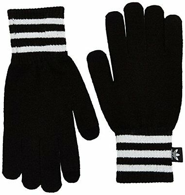 Adidas – Guanti per touchscreen, Uomo, Touchscreen, Black/White, L (A4t)