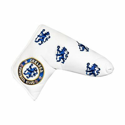 Chelsea Fc, Copri-Putter, Multicolore (White/Blue/Gold), Taglia unica (d1G)