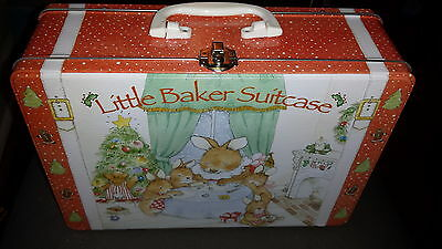 Child To Cherish Little Baker Suitcase Christmas Cookie Cutter Kit